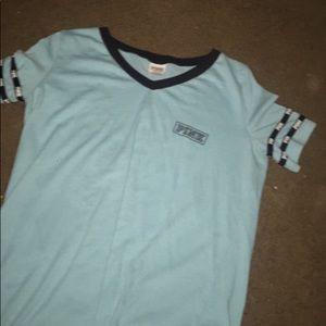 blue PINK t-shirt